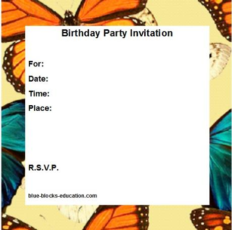 Teen Birthday Invitation Backgrounds Pictures to Pin – Birthday Invitation Background
